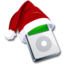 64x64px size png icon of Ipod santaclaus