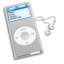 64x64px size png icon of iPod Grey
