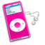 64x64px size png icon of iPod Pink