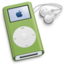 64x64px size png icon of iPod Mini Green