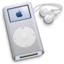 64x64px size png icon of iPod Mini Silver