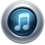 64x64px size png icon of iTunes10 Graphite