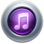 64x64px size png icon of iTunes10 Purple