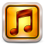 64x64px size png icon of Square Sunset Boulevard