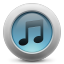 64x64px size png icon of iTunes simple