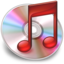 64x64px size png icon of iTunes Rood 3