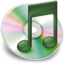 64x64px size png icon of iTunes groen 2
