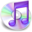 64x64px size png icon of iTunes paars