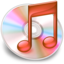 64x64px size png icon of iTunes rood 2