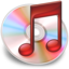 64x64px size png icon of iTunes rood