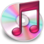 64x64px size png icon of iTunes roze 2