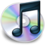 64x64px size png icon of iTunes zwart