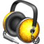 64x64px size png icon of Golden Garnish headphones