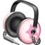 64x64px size png icon of Pinkstar Power headphones