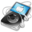 64x64px size png icon of ipod video black apple