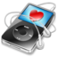 64x64px size png icon of ipod video black favorite