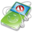 64x64px size png icon of ipod video green no disconnect