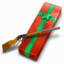 64x64px size png icon of Red Ryder 200 Shot Range Model Air Rifle
