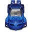 64x64px size png icon of Batmobile 1990s
