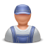 64x64px size png icon of contractor man