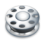 64x64px size png icon of Film reel