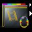 64x64px size png icon of Guyman Folder Video