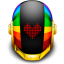 64x64px size png icon of Guyman Helmet Love