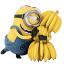 64x64px size png icon of Minion Bananas