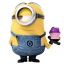 64x64px size png icon of Minion Cake