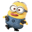 64x64px size png icon of Minion Crazy