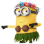 64x64px size png icon of Minion Dancing