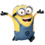64x64px size png icon of Minion Happy