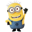 64x64px size png icon of Minion Hello