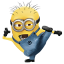 64x64px size png icon of Minion Kungfu