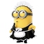 64x64px size png icon of Minion Maid