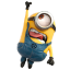 64x64px size png icon of Minion Superman