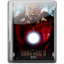 64x64px size png icon of Ironman 2 v3