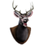 64x64px size png icon of Deer Head