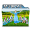 64x64px size png icon of Musical