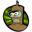 64x64px size png icon of Downgraded Bender