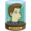 64x64px size png icon of David Duchovny's Head