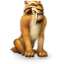 64x64px size png icon of Ice Age Diego