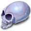 64x64px size png icon of Crystal Skull