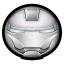 64x64px size png icon of Iron Man Mark II 01