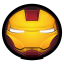 64x64px size png icon of Iron Man Mark IV 01