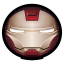 64x64px size png icon of Iron Man Mark VI 01