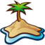 64x64px size png icon of Island