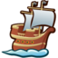 64x64px size png icon of Ship