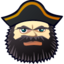 64x64px size png icon of Captain Tom Paine