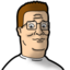 64x64px size png icon of Hank Hill